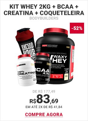 Kit-Whey-2kg-+-BCAA-+-Creatina-+-Coqueteleira---Bodybuilders