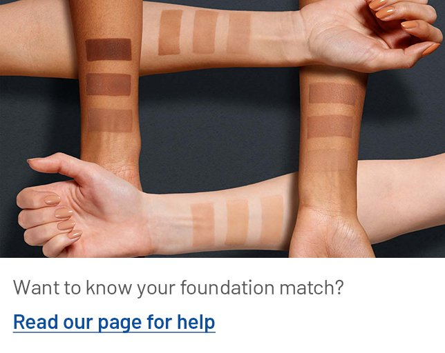 How to find your foundation match?