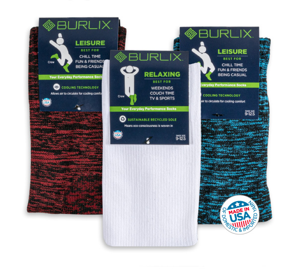 Burlix your everyday performance sock