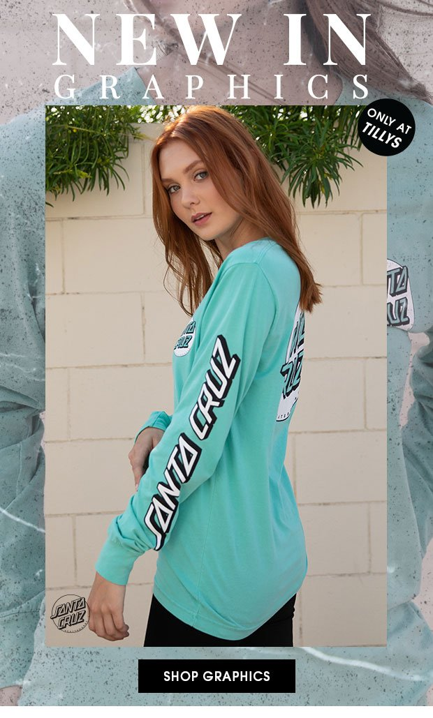 NEW IN GRAPHICS - Shop Women's Long Sleeve Tees