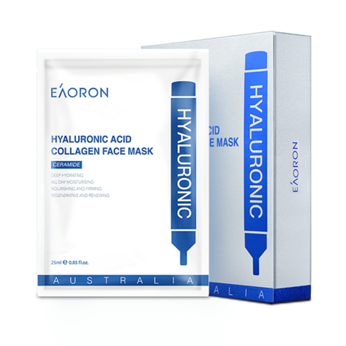 Image of Hyaluronic Acid Collagen Hydrating Face Mask x5