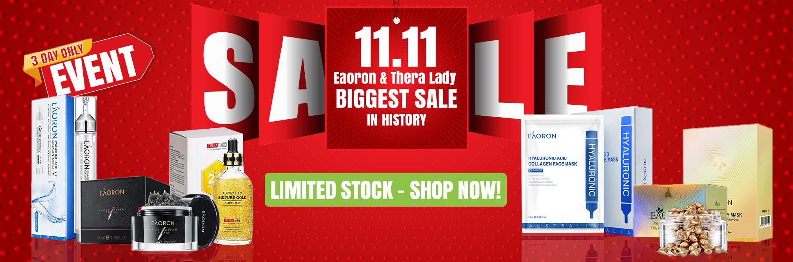 11.11 Sale!