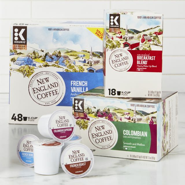 Keurig® K-Cup® 18-48 Count New England Coffee Pods