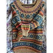 Women's Geometric Long Sleeve Pullover, R...