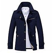 Men's Daily Fall & Winter Regular Jacket,...