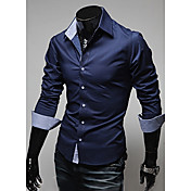 Men's Casual / Daily Plus Size Shirt - So...