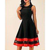 Women's Plus Size Basic Slim Sheath Dress...