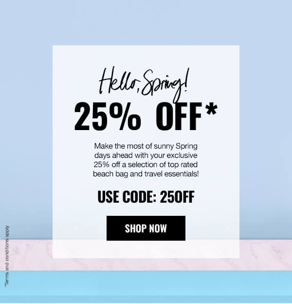 Email Exclusive 25% Off