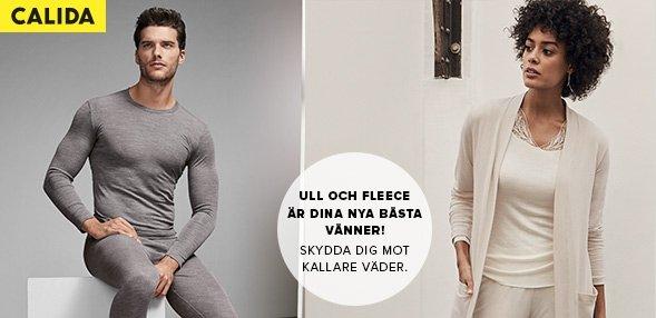 Calida | Ull och fleece är dina nya bästa vänner! Skydda dig mot kallare väder