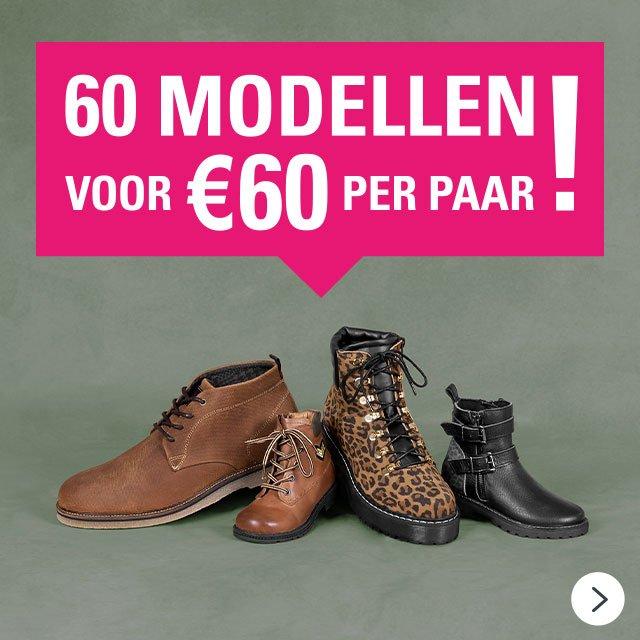 60 MODELLEN VOOR MAAR €60 PER PAAR! >