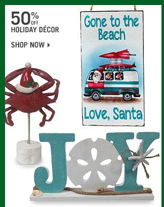 Shop 50% Off Holiday Decor