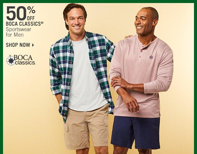 Shop 50% Off Boca Classics Sportswear for Men