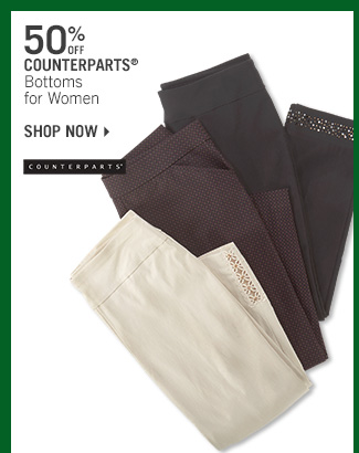 Shop 50% Off Counterparts Bottoms for Women