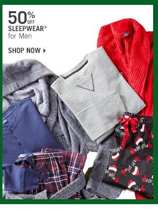 Shop 50% Off Sleepwear* for Men