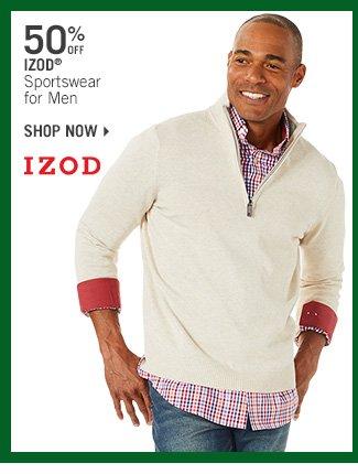 Shop 50% Off IZOD Sportswear for Men