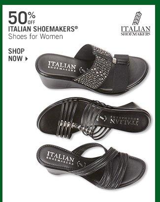 Shop 50% Off Italian Shoemakers Shoes for Women