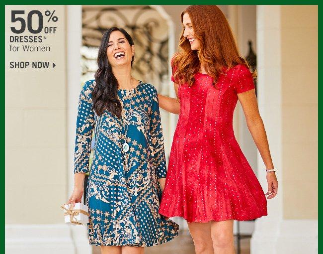 Shop 50% Off Dresses* for Women