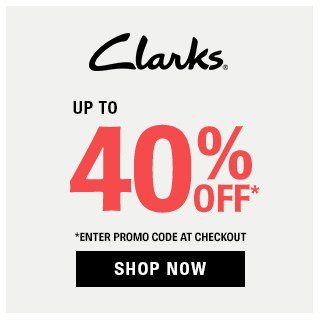 Clarks Up to 40% OFF