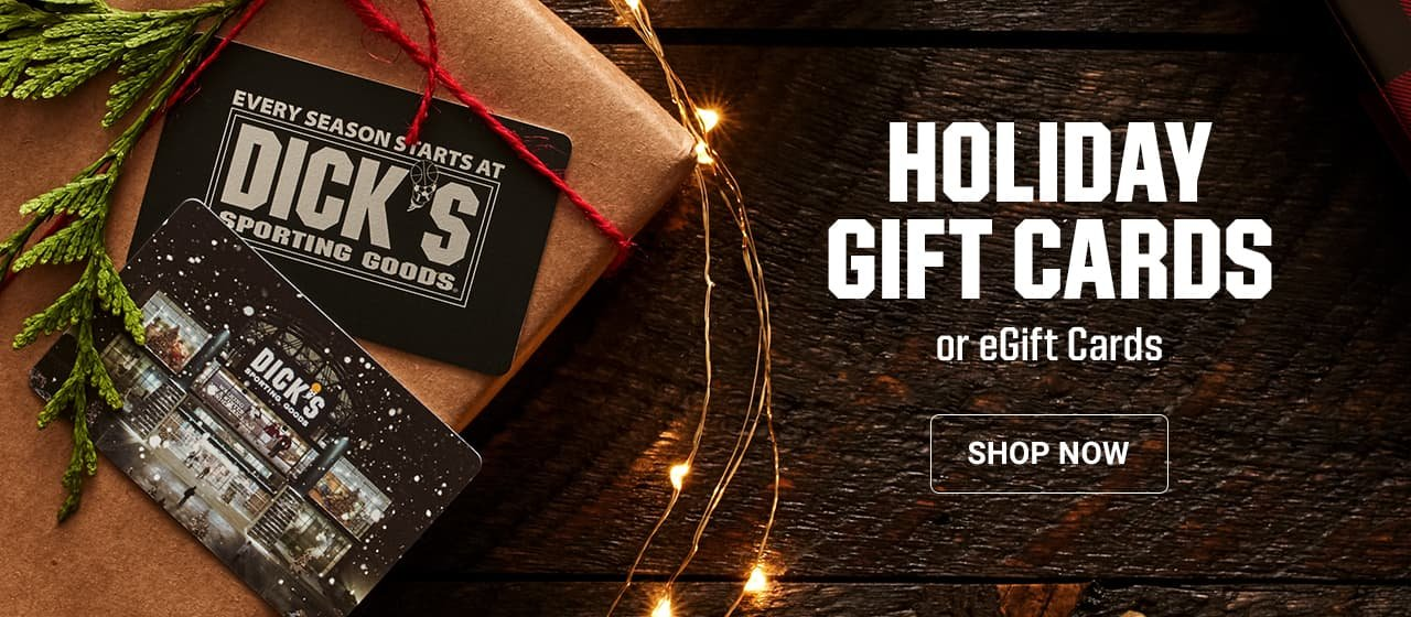 Holiday Gift Cards or eGift Cards. Shop Now.