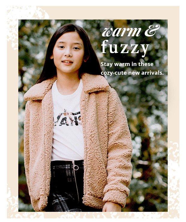 WARM AND FUZZY - Shop Girls' Cozy