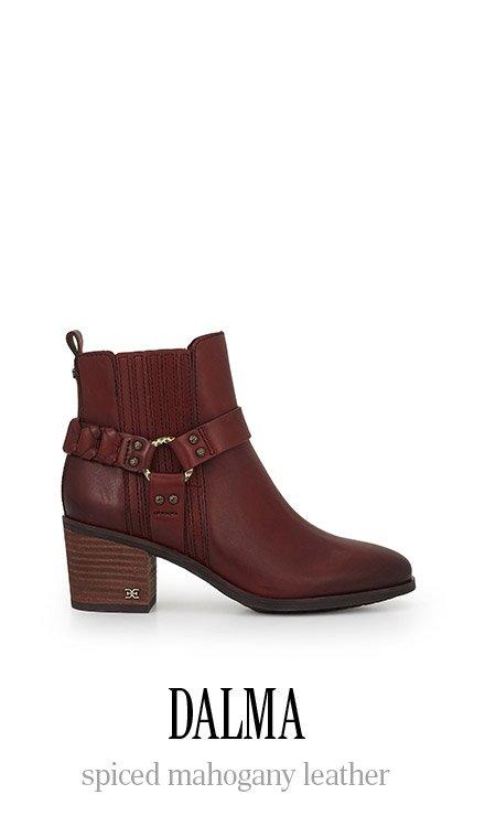DALMA spiced mahogany leather