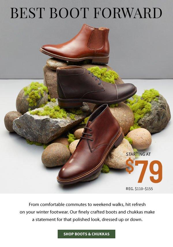 Best Boot Forward - Shop Boots & Chukkas - Starting at $79