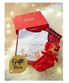Christmas Circus Gift Box with Pyjamas