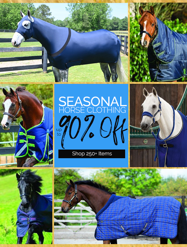 Shop 250+ Horse Clothing Products Up to 90% OFF