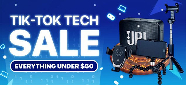 Tech Deals Under $50 SALE!