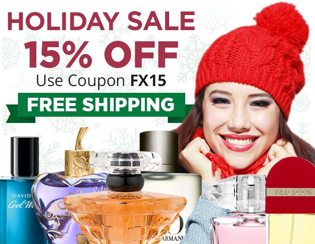 FragranceX.com - Holiday Sale