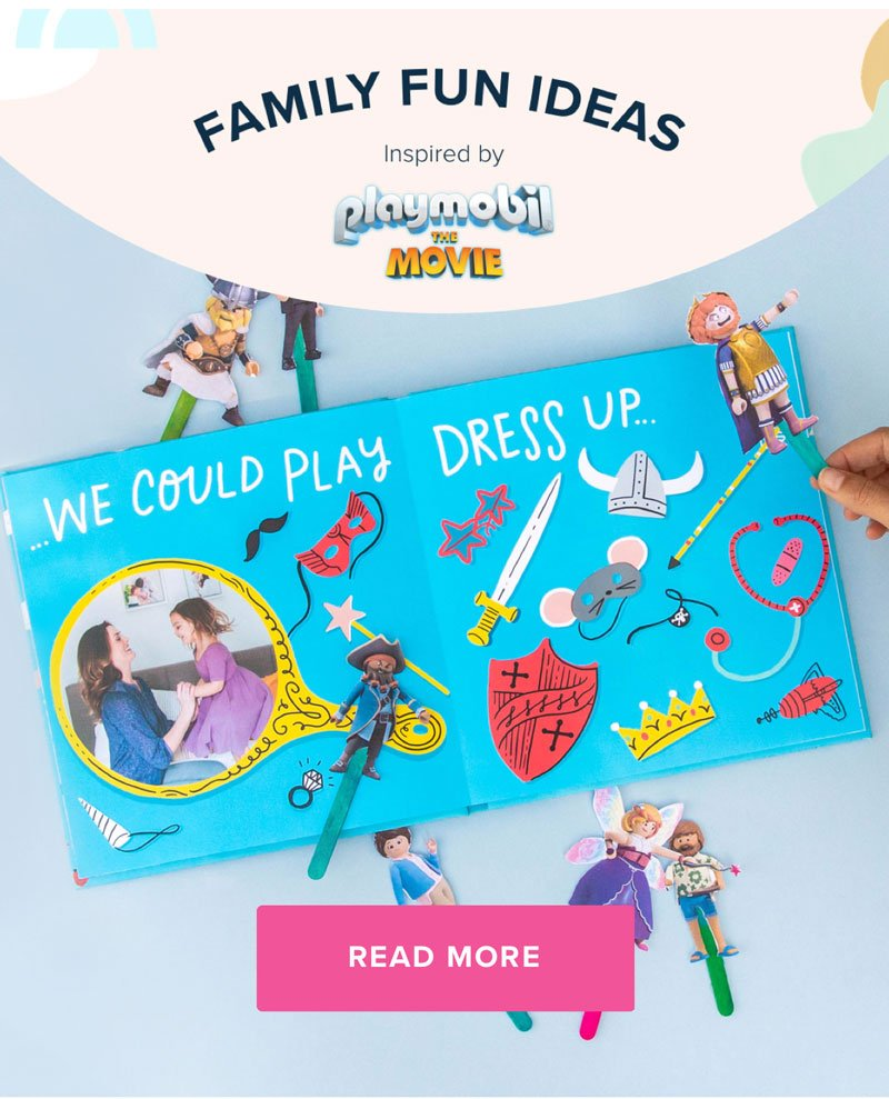 Family Fun Ideas Inspired by PLAYMOBIL The Movie - Read More