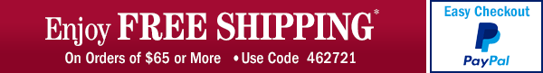 Free Shipping - Use Code 462721