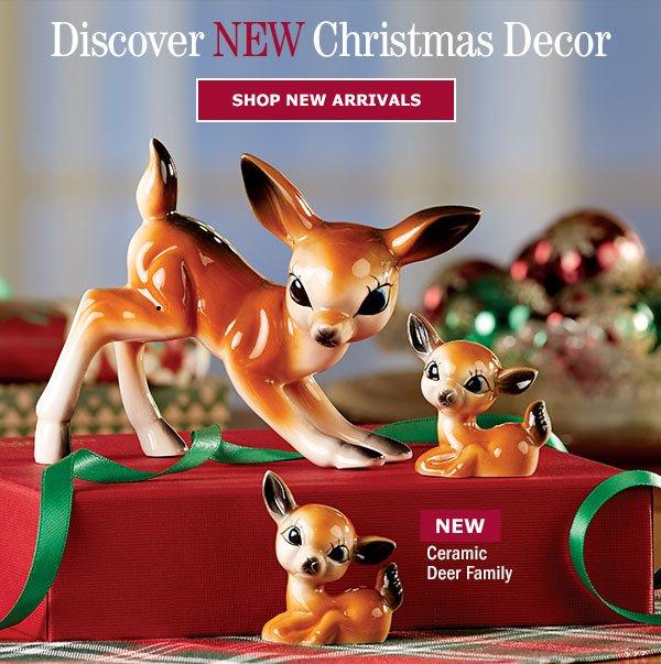 Ceramic Deer Family
