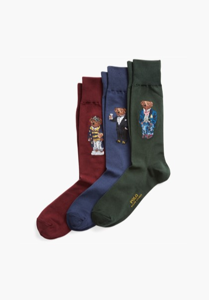POLO BEAR DRESS SOCK GIFT SET