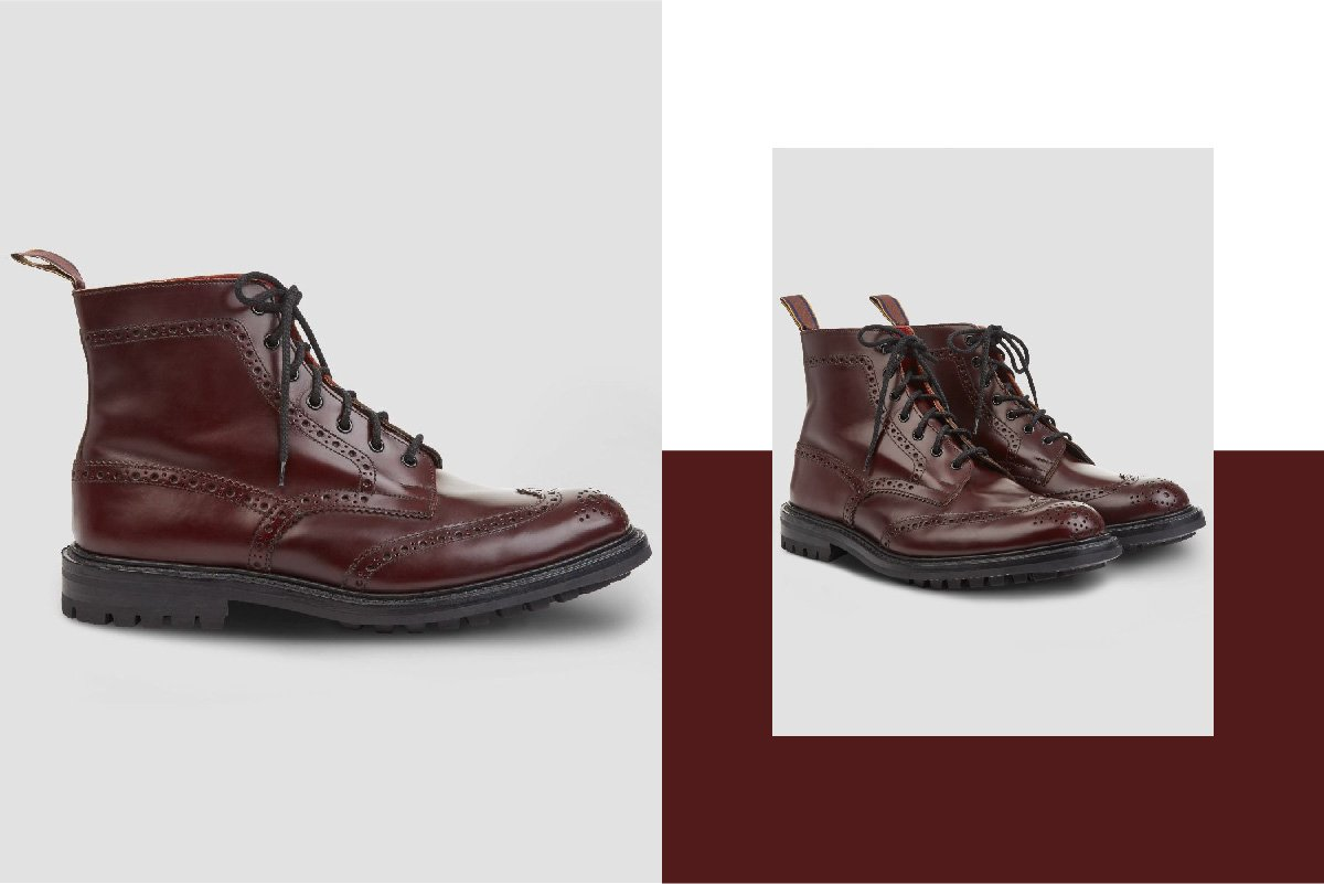 Country Brogue Boot