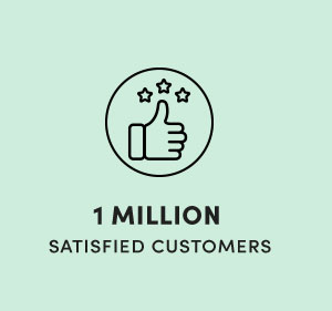 1 Million Satisfied Customers