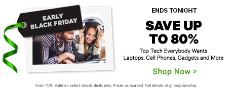 Early Black Friday - Save Up To 80%