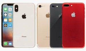 iPhone 7/7+/8/8+/X (Locked for AT&T; Refurbished A-Grade)