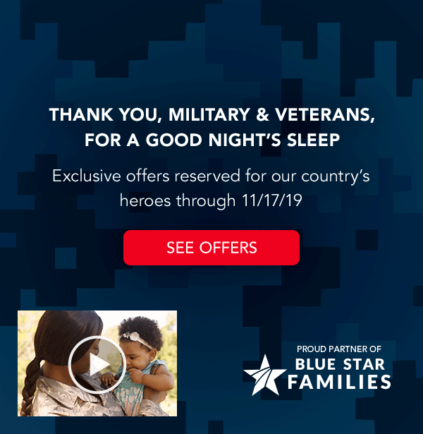Exclusive offers for military & Veterans