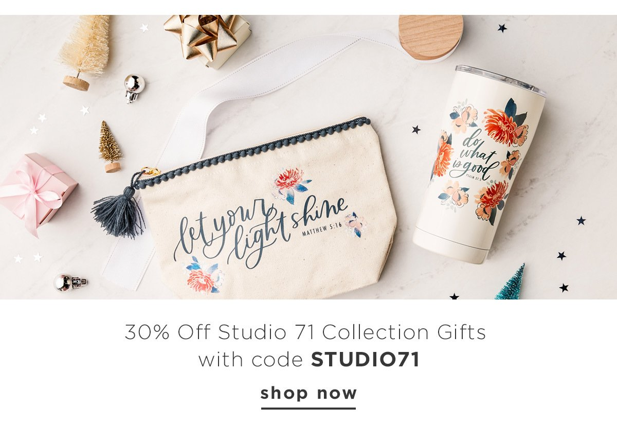 30% Off Studio 71 Collection Gifts with code STUDIO71