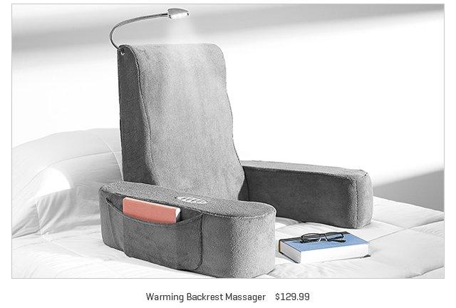 Warming Backrest Massager