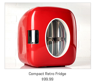 Compact Retro Fridge