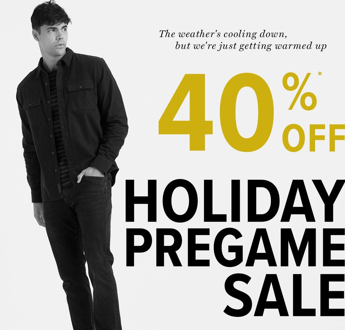 Shop Our Holiday Pregame Sale!*