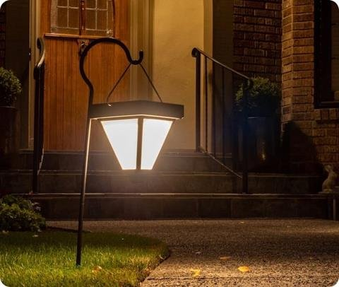 Brightlites Ultra-Bright Solar Garden Light offer 60 lumens of light