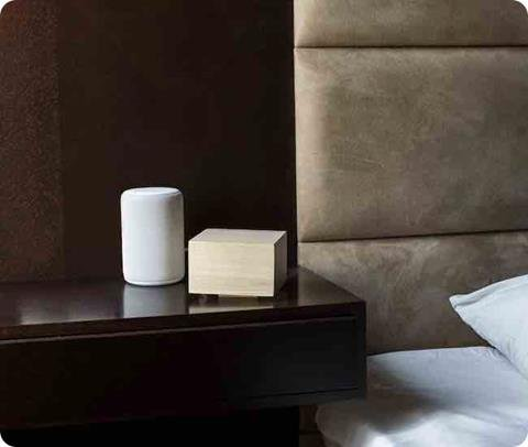 zLight Smart Lighting Sleep System creates the perfect environment for sleep