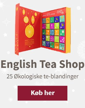 English tea Shop julekalender