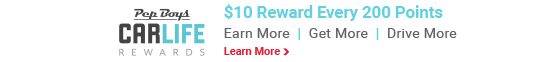 Pep Boys CarLife Rewards