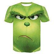 Tee-shirt Homme, Géométrique / 3D / Bande...