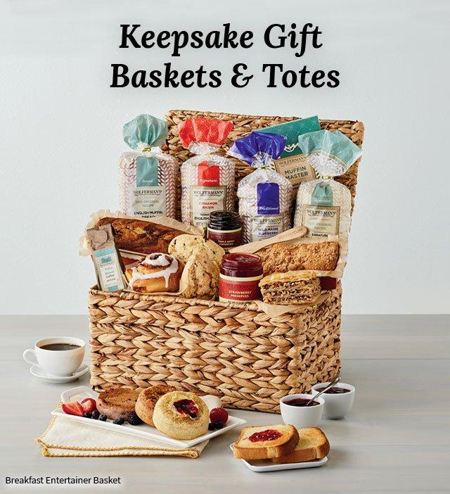 Keepsake Gift Baskets & Totes