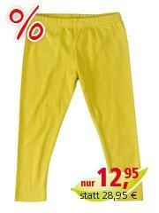 Baby und Kinder Leggings gelb Gr.62/68